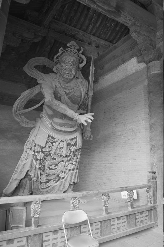 Guardian king in Shanmen