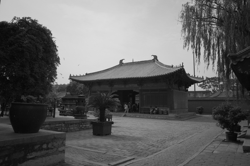 Back of Guanyin Pavilion