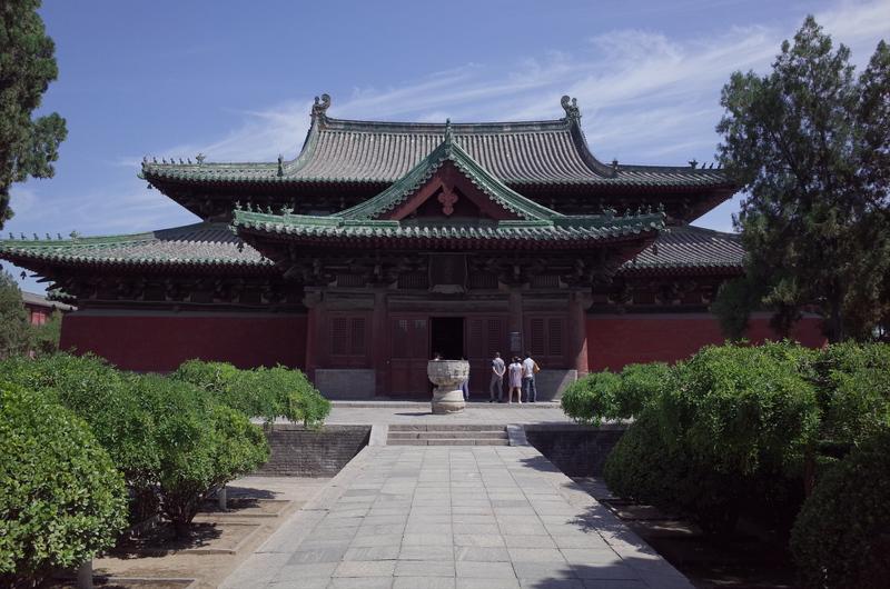 Moni Hall of Longxing Temple